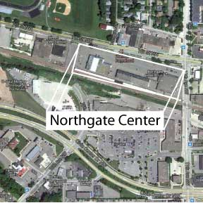 Map of Northgate Center Buildings